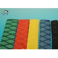 Wholesale RoHS Compliant X Printed Diamond Polyolefin Heat Shrink Tubing , heat shrink insulation sleeving from china suppliers