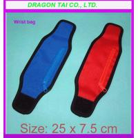Wholesale Running wristband wallet, wrist bag with zipper wallet, wrist bag from china suppliers