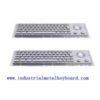 Quality Outdoor Industrial Keyboard With Trackball , Cherry Mechanical Switch for sale