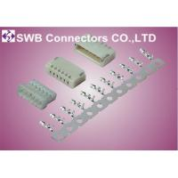 Wholesale White Ultra-thin LED Light Bar Wire to board Single Row Connector from china suppliers
