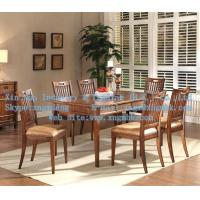 Wholesale Wooden dining table, wooden chair, wooden dining tables and chairs from china suppliers