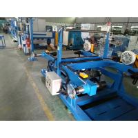 Buy cheap Blue Color Wire Extrusion Machine Algeria Building Cable Extruder Machine Production Line from wholesalers