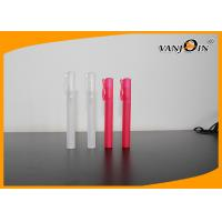 Wholesale Colorful PET Cosmetic Bottles Sprayer Pen , 10ml Perfume Pen Spray Bottle from china suppliers