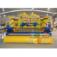 Buy cheap PVC Cartoon Theme Inflatable Despicable Me Bouncer Castle For Kids Indoor Game from wholesalers