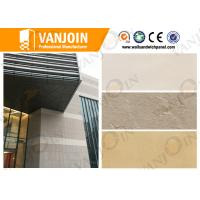 Wholesale Artificial Stone Insulated Building Panels , Concrete Wall Panels Durability from china suppliers