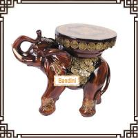 Buy cheap home decoration items art craft stool modern and fashion elephant figurines A0547M from wholesalers