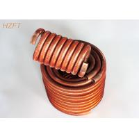 Wholesale Oil Coolers Compact Design Finned Tube Coils / Water Heating Coils from china suppliers