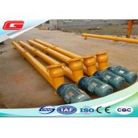 Quality Electric Engine Stainless Steel Screw Auger Conveyor With 273mm 219mm 323mm Diameter for sale
