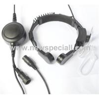 Wholesale Professional quality throat microphone with earphone from china suppliers