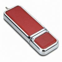Wholesale Classic Leather Pen USB Flash Drive 64MB - 64GB USB 3.0 High Speed from china suppliers