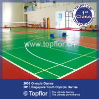 Quality 6.0mm Indoor PVC Sports Court Flooring for sale