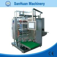 Wholesale High Speed 3 Phase 4 Wire Four Side Sealing Packing Machine For Soy Sauce / Peanut Oil from china suppliers