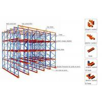 Wholesale Forklift Heavy Duty Metal Drive in Pallet Rack 1350mm to 3900mm Width from china suppliers