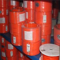 Wholesale Smooth Pu Round Belting In Roll With High Stretch , Orange Color from china suppliers