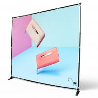 Wholesale Digital Printing Adjustable Banner Stands Step Repeat Backdrop Telescopic from china suppliers