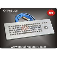 Wholesale Desktop Stainless steel Ruggedized Keyboard with Laser Trackball from china suppliers