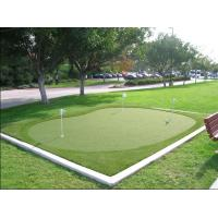 Buy cheap Green Golf Playground Synthetic Lawn Grass Turf with UV Stability Fibrillated Yarn 12mm from wholesalers