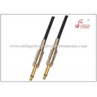 "Wholesale OD 6 mm Electric Guitar Cable , Conductive PE 1/4"" TS Guitar To Computer Cable from china suppliers"