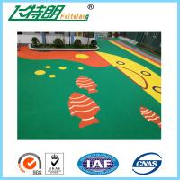 Wholesale Elastic Floor EPDM Rubber Flooring Non - Toxic Recycled Gym Rubber Flooring Mat from china suppliers