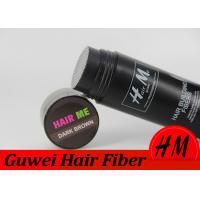 Wholesale Hair Loss Care Artificial Hair Filler Fibers Customized Size / Color from china suppliers
