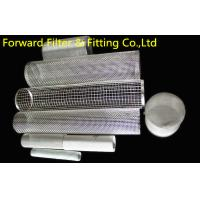 Wholesale Specializing in the production of stainless steel screen mesh screen tube stainless steel mesh screen filter network from china suppliers