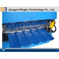 Wholesale 5.5KW Galvanized Steel Sheet Double Layer Roll Forming Machine for Corrugated Roof from china suppliers