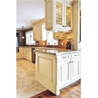 Quality European Modern white color wooden Kitchen cabinet for sale