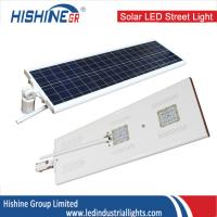 Wholesale White Solar LED Street Lights 40 Watt Solar Powered Street Lighting 120 Degree Beam Angle from china suppliers