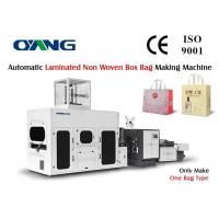 Wholesale Non Woven 3D Gift Bag Box Bag Making Machine with Computerized Servo Motor System from china suppliers