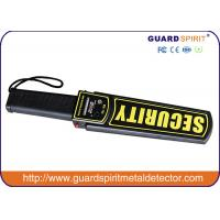 Wholesale Political Speeches Airports Hand Held Security Scanner / Body Metal Detecting Wand from china suppliers