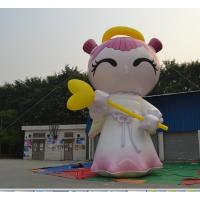 Wholesale Lovely Good Luck Baby Inflatable Advertising Products , Improve Reputation Toys from china suppliers