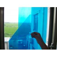 Wholesale Temporary Blue Adhesive PE Protective Film For Glass Windows High Smooth Surface from china suppliers