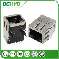 Wholesale Communication RJ45 with Transformer Right Angle Integrated magnetics jack from china suppliers