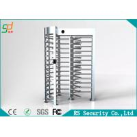 Wholesale Stainless Steel Full Height Turnstiles Door For Shopping Mall Pedestrian Access from china suppliers