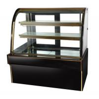 Wholesale Wholesale single curved glass cake refrigerated showcase counter top chiller case cake display fridge refrigerator for s from china suppliers