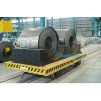 Wholesale Structural Steel Railway Motorized Transfer Trolley / Truck For Warehouses Transportation from china suppliers