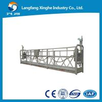 Wholesale Aluminum temporary gondola ZLP800 / suspended cradle ZLP630 / ZLP1000 working platform from china suppliers