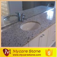 Wholesale Costomized design giallo ornamental granite bathrom, vanitytop from china suppliers