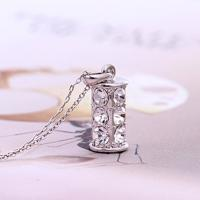 Wholesale Ref No.:105081 Wishing bottle Elements Swarovski rarely necklace jewellery 925 stamp jewelry shopping online from china suppliers
