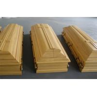 Wholesale Portugal style coffin , high gloss lacquer paulownia wooden coffins from china suppliers