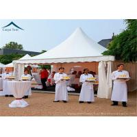 Wholesale 5m * 5m Small White Marquee Pagoda Party Tents For Outdoor Commercial Event from china suppliers