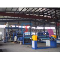 Buy cheap Clear PP Extruder Plastic Machine / PET Plastic Sheet Production Line from wholesalers