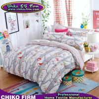 Wholesale Birds and Plants 100% Polyester Bedding Sets Duvet Covers Pillowcases Bed Sheets from china suppliers