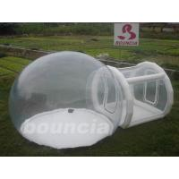Wholesale 0.5mm PVC Or TPU Inflatable Trasparent  Bubble Tent For Trade Show from china suppliers