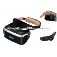 Wholesale Black Smart Virtual Reality Head Set 1920x1080 Screen Quad Core CPU from china suppliers