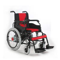 Wholesale Manual Electric Dual Use Foldable Motorized Wheelchair For Disabled / Elderly from china suppliers