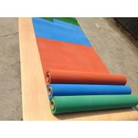 Quality Exercise Room Heavy Duty Gym Flooring Rolls , Coloured Rubber Athletic Flooring Matting for sale
