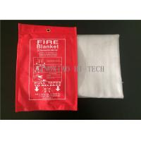 Wholesale 550℃ Emergency Fiberglass Fire Blanket PU Coated Heat Resistant 0.4 - 3.0mm Thick from china suppliers