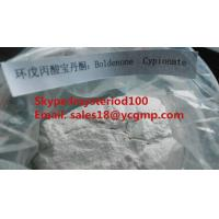 Wholesale Healthy Boldenone Cypionate Raw Steroid Hormone Powder Without Side Effects BC 106505-90-2 from china suppliers