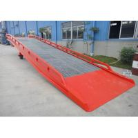 Wholesale 10 ton Steel yard ramp for loading and unloading trucks in 2.5M X 2.3M Platform size from china suppliers